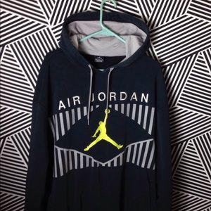 Jordan Shirts - Vintage Jordan Pullover Hoodie Sweatshirt